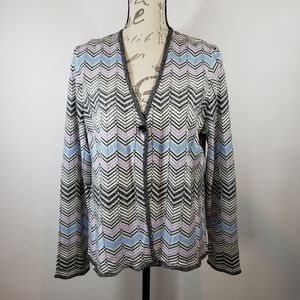 Pendleton Silk Blend Cardigan Sz Petite XL